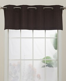 "Armant Grommet Top Curtain Valance, Gold, 54 x 18"""