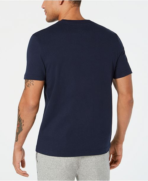 e1a8638c Tommy Hilfiger Men's Big and Tall Logo-Print T-Shirt, Created for Macy's ...