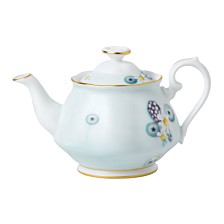 Royal Albert Alpha Foodie Mini Turquoise Teapot