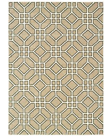 "Oriental Weavers Carson 9669D Sand/Ivory 6'7"" x 9'2"" Area Rug"