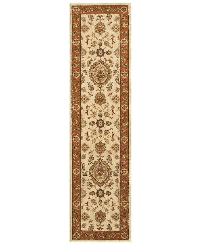 "Oriental Weavers - Casablanca 5317 1'10"" x 7'6"" Runner Area Rug"