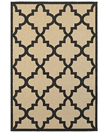 "Oriental Weavers Cayman 660 7'10"" x 10'10"" Indoor/Outdoor Area Rug"