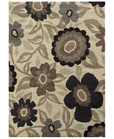 "Oriental Weavers Covington Shag 504J6 Ivory/Beige 7'10"" x 10'10"" Area Rug"