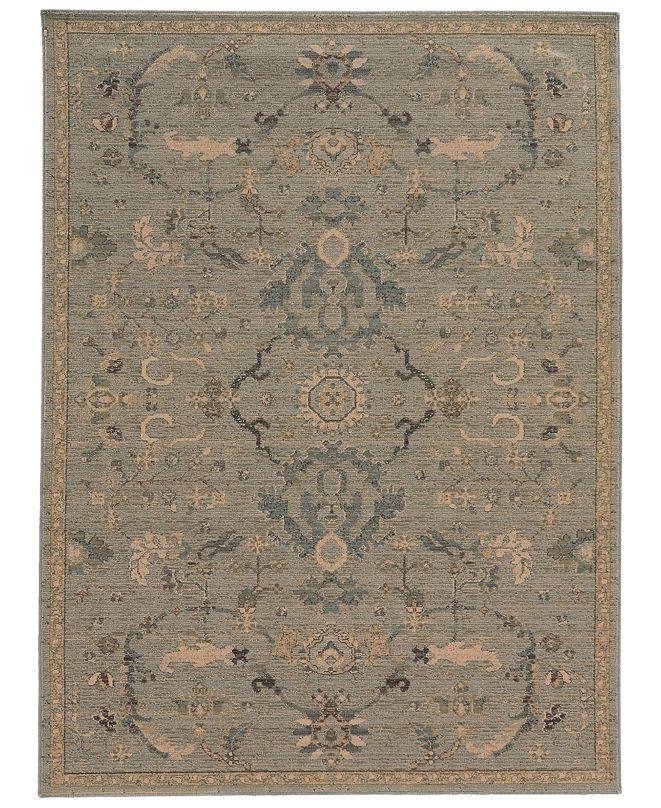 "Oriental Weavers Heritage 533L5 Blue/Beige 1'10"" x 3'3"" Area Rug"