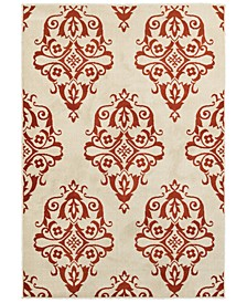 "CLOSEOUT!  Jayden 7412D Ivory/Rust 7'10"" x 10'10"" Area Rug"
