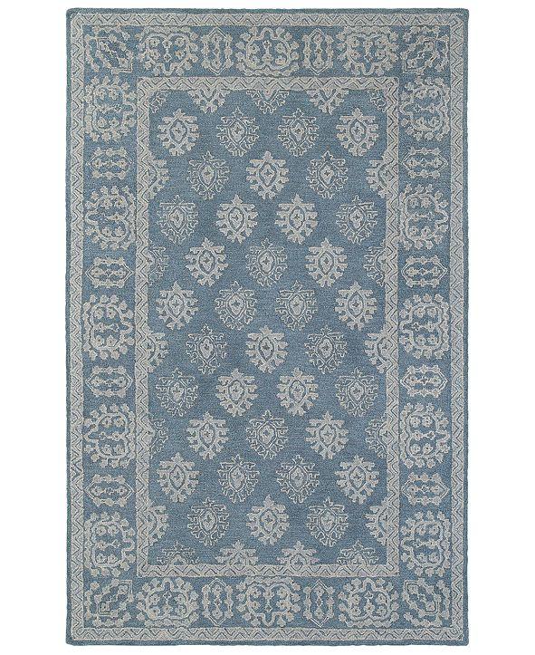 "Oriental Weavers Manor 81201 Blue/Gray 3'6"" x 5'6"" Area Rug"