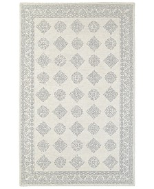 Oriental Weavers Manor 81207 Gray/Beige 5' x 8' Area Rug