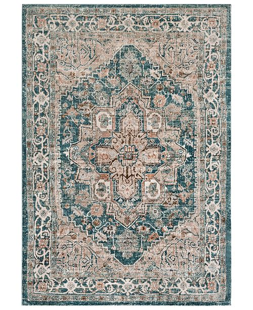 Surya Soft Touch SFT-2301 Teal 2' x 3' Area Rug