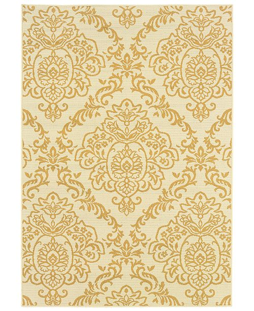 "Oriental Weavers Bali 8424 2'5"" x 4'5"" Indoor/Outdoor Area Rug"