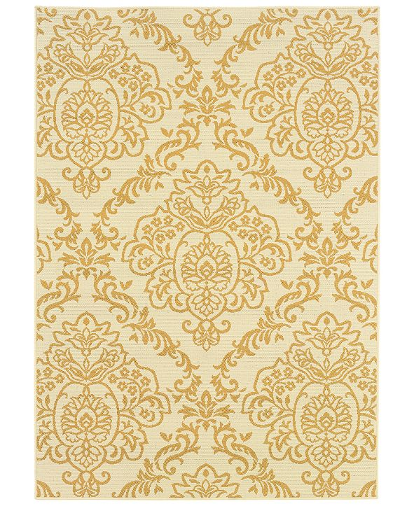 "Oriental Weavers Bali 8424 3'7"" x 5'6"" Indoor/Outdoor Area Rug"