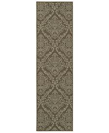 """Oriental Weavers Bali 8424 7'10"""" x 7'10"""" Indoor/Outdoor Runner Area Rug"""