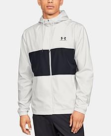 Men's Sportstyle Colorblocked Hooded Windbreaker
