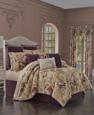 J Queen Grace King Comforter Set