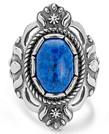 Classics Denim Lapis Ring in Sterling Silver