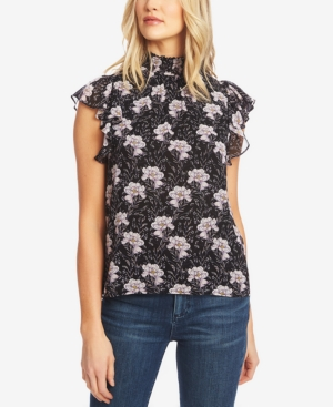 1.state Tops FLUTTER-SLEEVE TOP