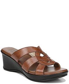 Naturalizer Violet Wedge Sandals