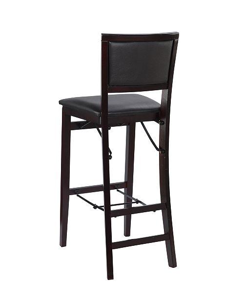 Outstanding Keira Folding Bar Stool Theyellowbook Wood Chair Design Ideas Theyellowbookinfo
