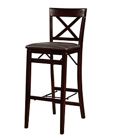 Triena X-Back Folding Bar Stool