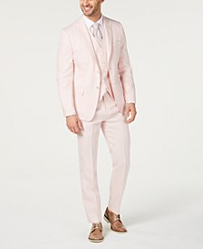 Men's Classic-Fit Linen Suit Separates