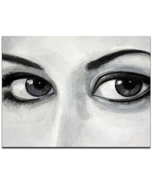 "Ready2HangArt 'Temptation II' Eyes Canvas Wall Art, 20x30"""