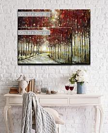 Ready2HangArt 'Fall Morning Drive' Canvas Wall Art Collection
