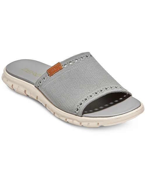 6739a43fb3fcd Cole Haan Men's ZeroGrand Stitchlite Slide Sandals & Reviews - All ...