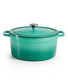 Enameled Cast Iron Round 8-Qt. Dutch Oven, Created for Macy's