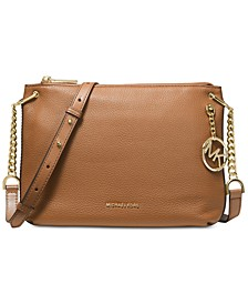 Lillie Pebble Leather Crossbody