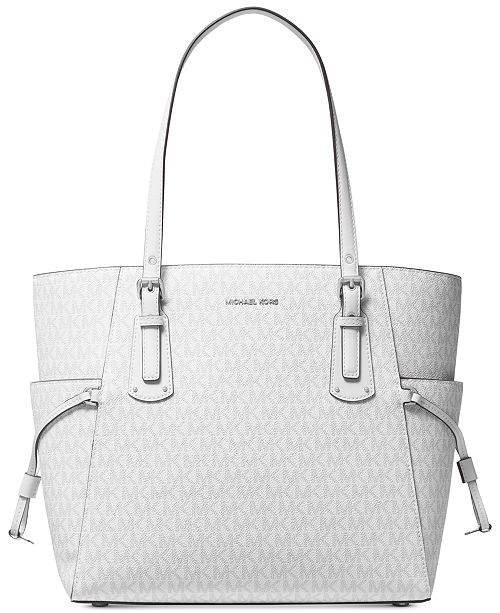 ced2172a5a7c Michael Kors Voyager East West Signature Tote   Reviews - Handbags ...