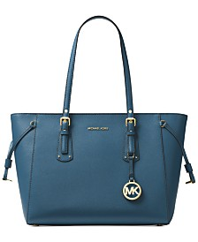 62666649edf1 Michael Kors Jet Set Large Crossgrain Leather Tote   Reviews ...