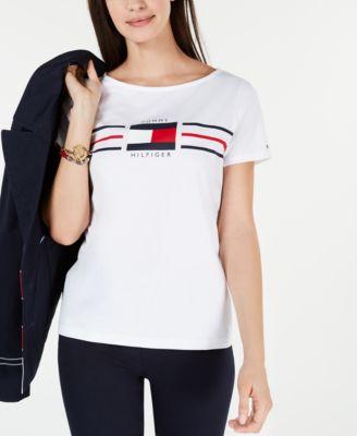 macy's tommy hilfiger women's shirts