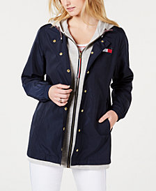 Tommy Hilfiger Fleece-Inset Hooded Jacket