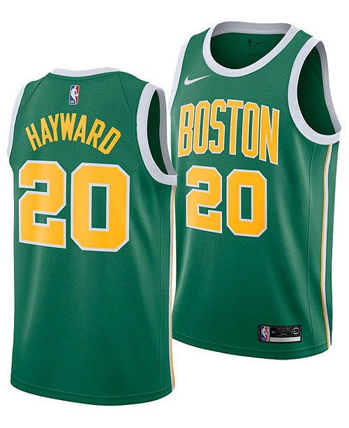 best service 7d04a fe492 Men's Gordon Hayward Boston Celtics Earned Edition Swingman Jersey
