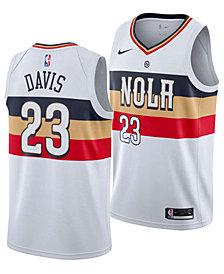 Nike Men's Anthony Davis New Orleans Pelicans Earned Edition Swingman Jersey