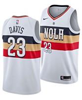 0dbf7976582e Nike Men s Anthony Davis New Orleans Pelicans Earned Edition Swingman Jersey