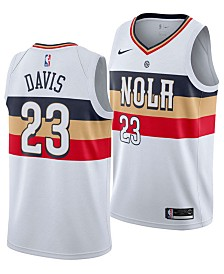 Nike Men's Anthony Davis New Orleans Pelicans Earned Edition Swingman Jersey