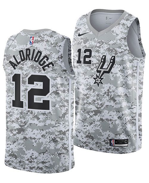 differently 48cfd 03eca Nike Men's Lamarcus Aldridge San Antonio Spurs Earned ...
