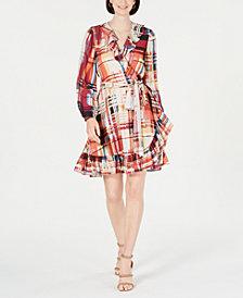 I.N.C. Flounce-Hem A-Line Dress, Created for Macy's
