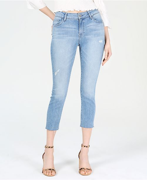 M1858 Kristen Ripped Cropped Jeans