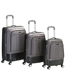 Milan 3-Pc. Hardside Luggage Set