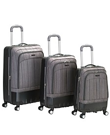 Rockland 3-Piece Milan Hardside Luggage Set