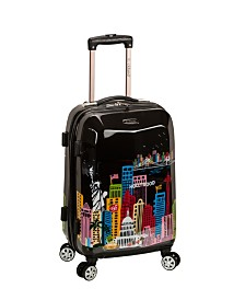 "Rockland Cityscape 20"" Hardside Carry-On"