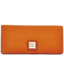 Pebble Leather Slim Wallet