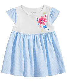 First Impressions Baby Girls Floral-Detail Tunic, Created for Macy's
