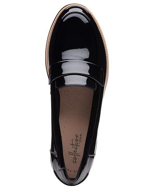 1013af764 ... Clarks Collection Women s Sharon Gracie Platform Loafers