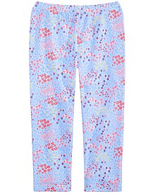 First Impressions Toddler Girls Mini Floral-Print Leggings, Created for Macy's