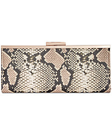 I.N.C. Carolyn Snake Clutch, Created for Macy's