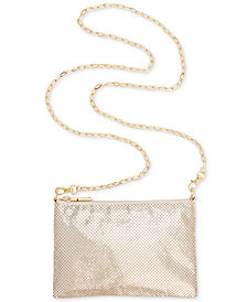 I.N.C. Demir Mesh Convertible Belt Bag, Created for Macy's