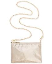 6e465abfe5af5 I.N.C. Demir Mesh Convertible Belt Bag