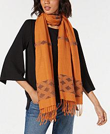 Eileen Fisher Cotton Fringe Wrap